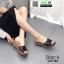 รองเท้าส้นเตารีด สไตล์เกาหลี 028-268-BLK [สีBLK]