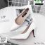 รองเท้าคัชชู วัสดุหนังPU K9336-WHI [สีขาว] thumbnail 3