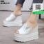 รองเท้าแบบสวมส้นเตารีด ST20-WHI [สีขาว] thumbnail 3