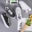 รองเท้าผ้าใบนำเข้า สไตล์เกาหลี K0416-BLACK [สีดำ] thumbnail 4
