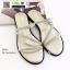 รองเท้าแตะผู้หญิง สายคาดเพชร M1860-GLD [สีทอง] thumbnail 2