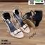 รองเท้าส้นเหลี่ยมรัดข้อหุ้มส้น 17-2209-BLK [สีดำ] thumbnail 5