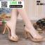 รองเท้าส้นสูงแบบสวม 099-WHI [สีขาว] thumbnail 1
