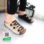 รองเท้าสไตล์เพือสุขภาพ คาดสีสลับ 5815-BLACK [สีดำ] thumbnail 1
