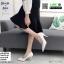 รองเท้าคัชชู วัสดุหนังPU K9336-WHI [สีขาว] thumbnail 2