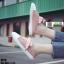 รองเท้าผ้าใบสวมเปิดท้าย ST55-PNK [สีชมพู] thumbnail 2