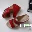 รองเท้าเตารีด Wedge shoe 2 ตอนหุ้มส้น 1146-แดง [สีแดง] thumbnail 3