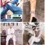รองเท้าแตะสายคาดไขว้ หนังสักราจ G-1264-GRY [สีเทา] thumbnail 4