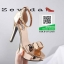 รองเท้าส้นสูง สไตล์MAXXI 17-2315-GOLD [สีทอง] thumbnail 4