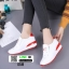 รองเท้าผ้าใบสไตล์เกาหลี แต่งครัสตัล 0519-RED [สีแดง] thumbnail 1