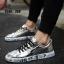 รองเท้าผ้าใบ Flashion หนัง PU-silver 558 [สีเงิน] thumbnail 2