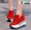 รองเท้าผ้าใบเสริมส้น ST014-RED [สีแดง] thumbnail 1