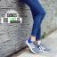 รองเท้าผ้าใบ ทรงสปอร์ต แต่งแถบข้าง SM9025-GRY [สีเทา] thumbnail 3