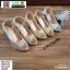 รองเท้าส้นสูงเปิดหน้า J2431-GLD [สีทอง] thumbnail 4