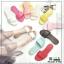 รองเท้าแตะแฟชั่นแบบคาด สวม สีพาสเทล G-1450-SIL [สีเงิน] thumbnail 3