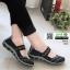 ผ้าใบยางยืด เพื่อสุขภาพเท้า 052-ดำ [สีดำ] thumbnail 2