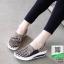 รองเท้าผ้าใบยางยืด 7014-กาแฟ [สีกาแฟ] thumbnail 3