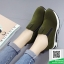 รองเท้าผ้าใบไร้เชือกสีน้ำตาล แนวสตรีท (สีน้ำตาล ) thumbnail 4