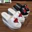รองเท้าแบบสวมส้นเตารีด ST07-WHI [สีขาว] thumbnail 5