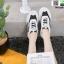 รองเท้าผ้าใบเสริมส้น ทรง Sport G-1414-BLK [สีดำ] thumbnail 2