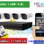 ชุดกล้องพร้อมติดตั้ง HILOOK 1.0MP จำนวน 4 ตัว พร้อมเครื่องบันทึก รับประกัน 3 ปี thumbnail 1