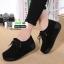 รองเท้าผ้าใบสไตล์เกาหลี 99-63-ดำ [สีดำ] thumbnail 2