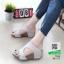 รองเท้าส้นเตารีด หนัง pu 961-57-เทา [สีเทา] thumbnail 1
