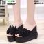 รองเท้าแบบสวมทรงเตารีด ST950-BLK [สีดำ] thumbnail 3