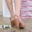 รองเท้าส้นสูงนำเข้า สไตล์เกาหลี 18-1411-PINK [สีชมพู] thumbnail 2
