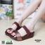 รองเท้าส้นเตารีด style fitflop F1109-BWN [สีน้ำตาล] thumbnail 2