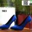 รองเท้าคัชชูหัวแหลม 983-BLU [สีน้ำเงิน] thumbnail 5