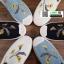 รองเท้าแบบสวม วัสดุผ้าด้านหน้า 345-213-CRM [สีครีม] thumbnail 5