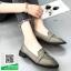 รองเท้าคัทชูสีเทา หนังนิ่ม (สีเทา ) thumbnail 3