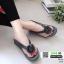 รองเท้าสุขภาพสไตล์ฟิทฟลอบ แต่งดอกคามิเลีย 119-เทา [สีเทา] thumbnail 2