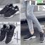 รองเท้าผ้าใบแบบสวม L09-BLK [สีดำ] thumbnail 2