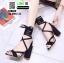 รองเท้าหุ้มท้ายส้นแท่ง ST8835-BLK [สีดำ] thumbnail 2