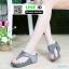 รองเท้าแตะเพื่อสุขภาพ แบบคีบ ส้นพียู SJ345-GRY [สีเทา] thumbnail 1