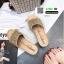 รองเท้าส้นเตารีด หน้าสวม กากเพชร 1902-GLD [สีทอง] thumbnail 2