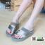 รองเท้าส้นเตารีด style fitflop L1964-GRY [สีเทา]