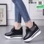 รองเท้าผ้าใบเสริมส้น ST526-BLK [สีBLK] thumbnail 3