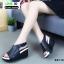 รองเท้าลำลองรัดส้น สไตล์สุขภาพ 981-93-BLK [สีดำ] thumbnail 4