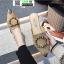 รองเท้าหัวแหลมเปิดส้น หนังชามัวร์นิ่ม 018-KHA [สีกากี] thumbnail 2