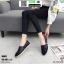 รองเท้าผ้าใบแบบสวม งานสไตล์ Tom's M003-BLK [สีดำ] thumbnail 3