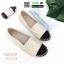 รองเท้าผ้าใบ Chanel Pearl Espadrilles 319-1275-APR [สีแอปริคอท] thumbnail 1