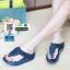 รองเท้าสุขภาพแต่งพู่ตุ้งติ้ง L2882-BLU [สีน้ำเงิน] thumbnail 2