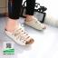 รองเท้าสไตล์เพือสุขภาพ คาดสีสลับ 5815-WHITE [สีขาว] thumbnail 1