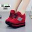 รองเท้าผ้าใบนำเข้า เสริมส้น แถบข้าง 0985-RED [สีแดง] thumbnail 2