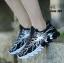 รองเท้าผ้าใบ ลายสุดแนว-Black 553 [สีดำ] thumbnail 3