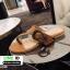 รองเท้าแตะหูหนีบ เท็กซ์เจอร์ลายเสือ G-1408-BWN [สีน้ำตาล] thumbnail 2