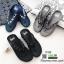 รองเท้าแตะเพื่อสุขภาพ คีบ ติดพลอยสี่เหลี่ยม YT122-น้ำเงิน [สีน้ำเงิน] thumbnail 2